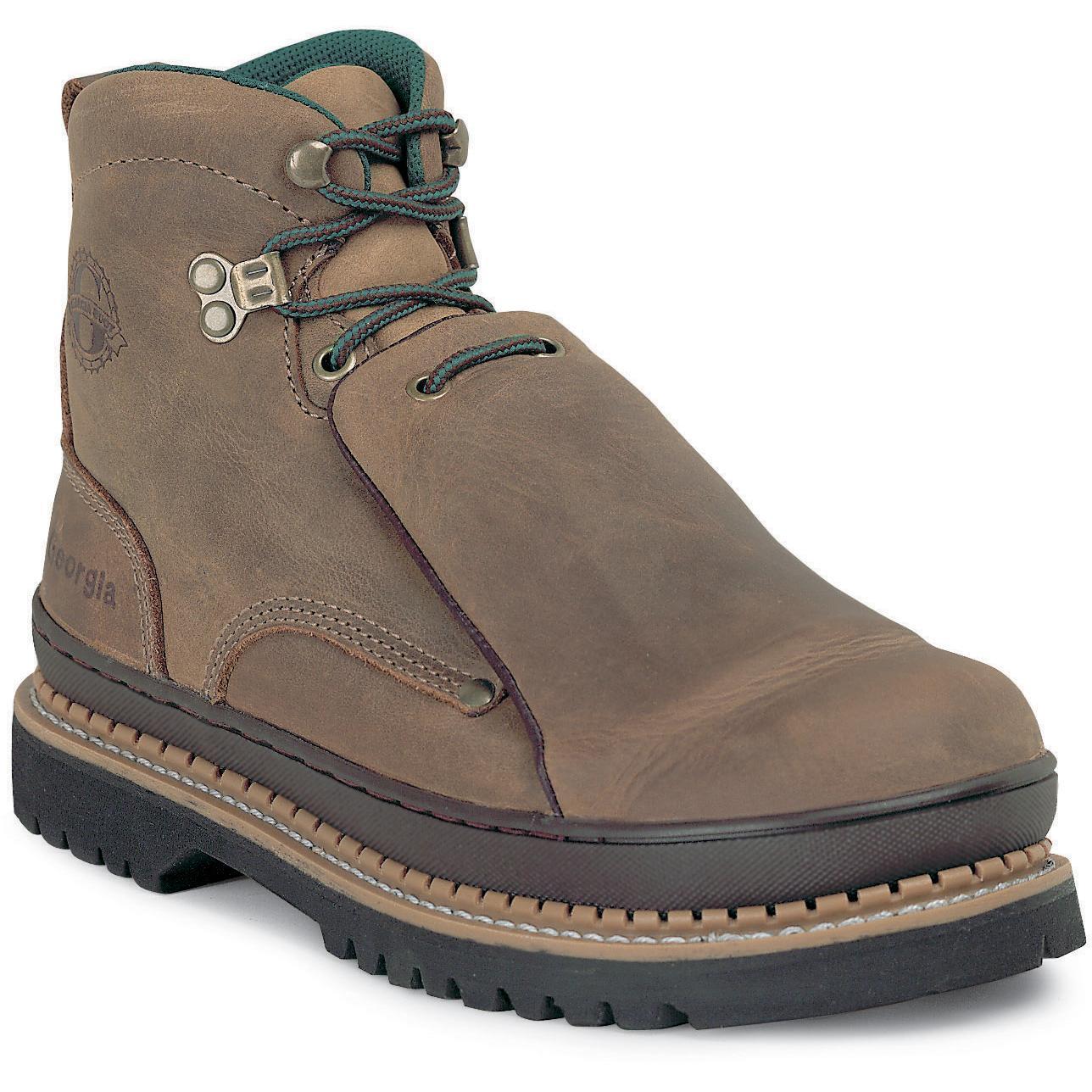 Fashionable steel toe work boots 84
