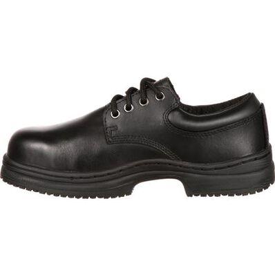 SlipGrips Women's Steel Toe Slip-Resistant Oxford, , large
