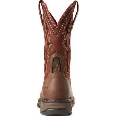 Ariat WorkHog XT Spear Men's 11 inch Carbon Fiber Toe Electrical Hazard Western Work Boot, , large