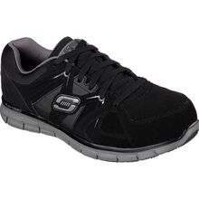 SKECHERS Work Synergy Ekron Men's Alloy Toe Electrical Hazard Athletic Work Shoe
