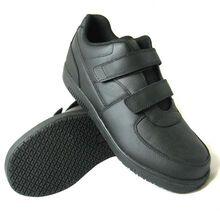 Genuine Grip Women's Slip-Resistant Hook and Loop Closure Athletic Shoe