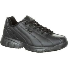 Fila Memory Niteshift Slip-Resistant Work Athletic Shoe