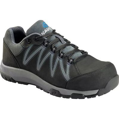 Nautilus Volt Men's Carbon Fiber Toe Static-Dissipative Leather Work Athletic Shoe, , large