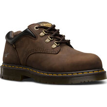 Dr. Martens Hylow Men's Steel Toe Static Dissipative Brown Work Oxford