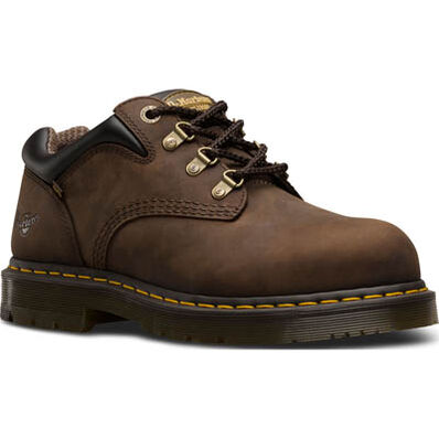 Dr. Martens Hylow Men's Steel Toe Static Dissipative Brown Work Oxford, , large
