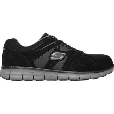 SKECHERS Work Synergy Ekron Men's Alloy Toe Electrical Hazard Athletic Work Shoe, , large