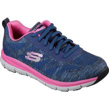 Skechers Work Relaxed Fit Comfort Flex Pro Women's Health Care Slip-Resistant Work Athletic Shoe