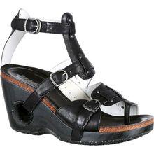 4EurSole Set Free Women's Black Sandal