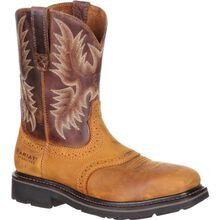 Ariat Sierra Wide Square Steel Toe Western Work Boot