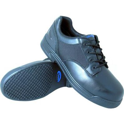 S Fellas by Genuine Grip Unisex Apache Composite Toe Slip-Resistant Oxford, , large