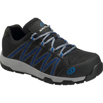 Nautilus Accelerator Men's Carbon Fiber Toe Static-Dissipative Non-Metallic Athletic Work Shoe, , large