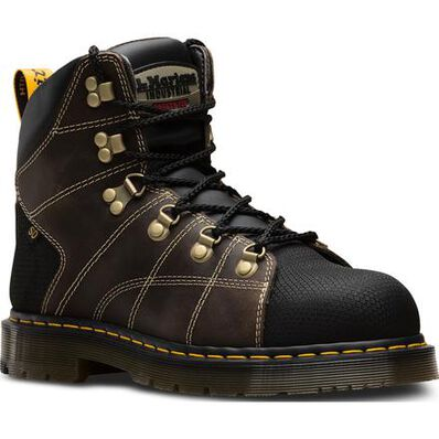 Dr. Martens Hybrid Rawston Men's 6 inch Steel Toe Static Dissipative Slip-Resistant Work Hiker, , large