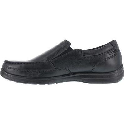 Florsheim Work Wily Women's Steel Toe Static-Dissipative Work Moc Toe Slip On Shoe, , large