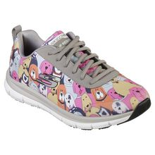 SKECHERS Work Comfort Flex Pro Women's Health Care Slip-Resistant Athletic Work Shoes