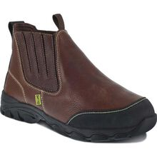 Iron Age Galvanizer Steel Toe Internal Met Guard Pull-On Work Boot