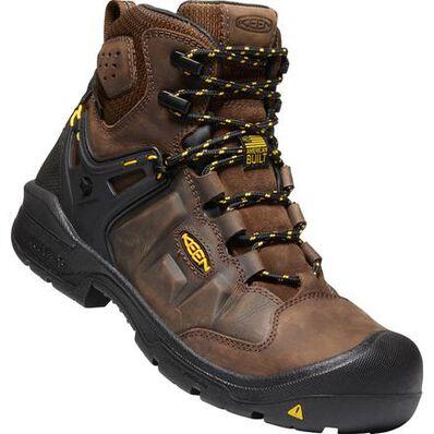 KEEN Utility® Dover Men's Carbon-Fiber Toe Electrical Hazard Waterproof Work Boot, , large