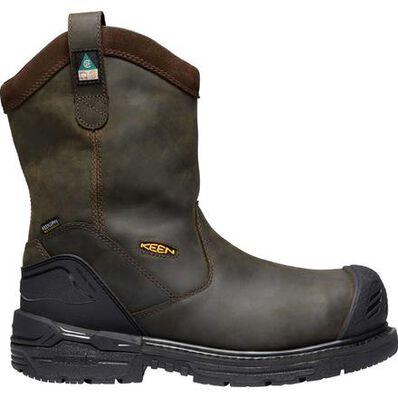 KEEN Utility® Philadelphia Men's CSA Carbon-Fiber Toe Puncture-Resisting Waterproof Work Wellington, , large