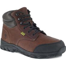 Iron Age Galvanizer Steel Toe Internal Met Guard Work Boot