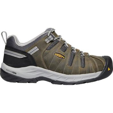 KEEN Utility® Flint II Men's Steel Toe Electrical Hazard Work Oxford, , large