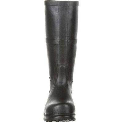 SlipGrips Steel Toe Slip-Resistant Waterproof Rubber Work Boot, , large
