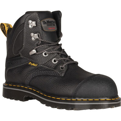 Dr. Martens Duxford Men's Steel Toe Electrical Hazard Waterproof Leather Work Hiker, , large