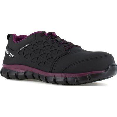 Reebok Sublite Cushion Work Women's Composite Toe Static-Dissipative Athletic Work Shoe, , large