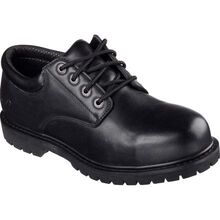 SKECHERS Work Relaxed Fit Cottonwood-Elks Men's Slip-Resisting Work Oxford
