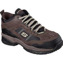 SKECHERS Work Soft Stride-Canopy Men's 5 inch Composite Toe Electrical Hazard Athletic Work Hiker