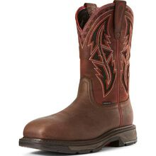 Ariat WorkHog XT Spear Men's 11 inch Carbon Fiber Toe Electrical Hazard Western Work Boot