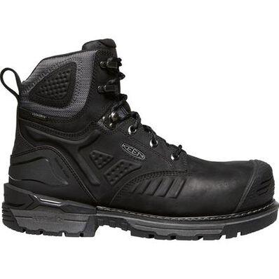 KEEN Utility® Philadelphia Men's Carbon-Fiber Toe Electrical Hazard Waterproof Work Boot, , large