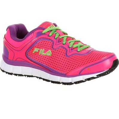 Fila Memory Fresh Start Women's Slip-Resistant Work Athletic Shoe, , large