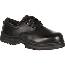 SlipGrips Women's Steel Toe Slip-Resistant Oxford