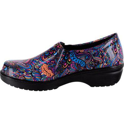 Easy WORKS by Easy Street Tiffany Women's Slip-Resistant Slip-On Work Shoe, , large