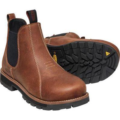 KEEN Utility® Seattle Women's Aluminum Toe Electrical Hazard Romeo Work Boot, , large
