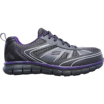 SKECHERS Work Synergy Algonac Women's Alloy Toe Work Athletic Shoe, , large