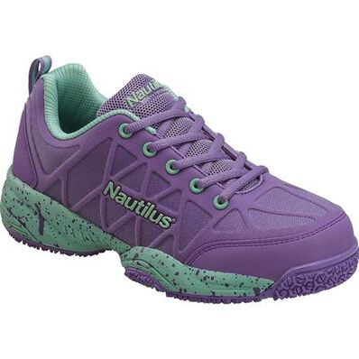 Nautilus Women's Composite Toe Slip-Resistant Work Athletic Shoe, , large