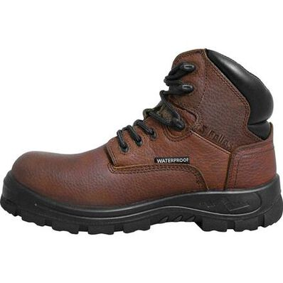 S Fellas by Genuine Grip Poseidon Men's Waterproof Leather Work Hiker, , large