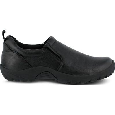 Spring Step Beckham Men's Slip Resistant Leather Slip-on Shoe, , large