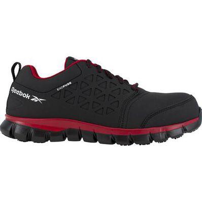Reebok Sublite Cushion Work Men's Composite Toe Static-Dissipative Athletic Shoe, , large