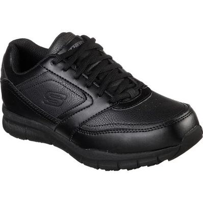 SKECHERS Work Nampa-Wyola Women's Slip Resistant Electrical Hazard Athletic Work Shoe, , large