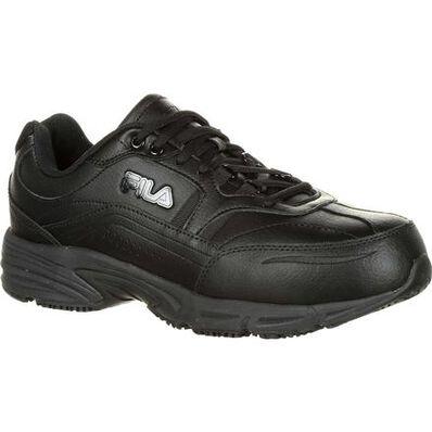 Fila Memory Workshift Composite Toe Slip-Resistant Work Athletic Shoe, , large