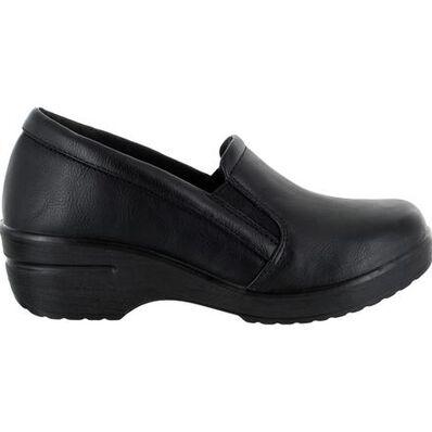 Easy WORKS by Easy Street Leeza Women's Slip-Resistant Slip-on Work Shoe, , large