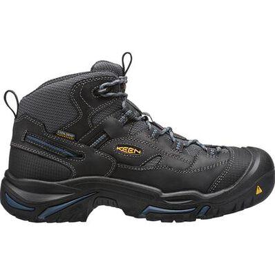 KEEN Utility® Braddock Mid Men's Electrical Hazard Waterproof Work Hiker, , large