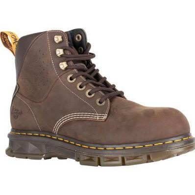 Dr. Martens Britton Men's 6 inch Steel Toe Electrical Hazard Work Boot, , large