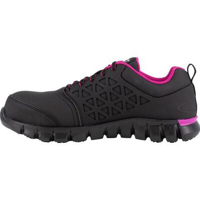 Reebok Sublite Cushion Work Women's Composite Toe Electrical Hazard Athletic Work Shoe, , large