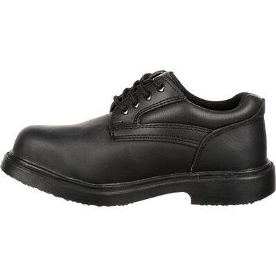 Genuine Grip Women's Slip-Resistant Steel Toe Oxford, , large
