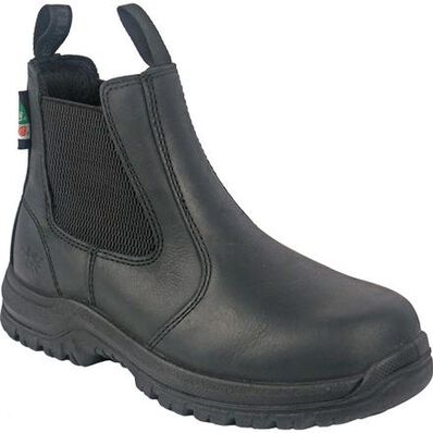 Moxie Trades Angelina Women's CSA Composite Toe Puncture-Resisting Pull-On Work Boot, , large