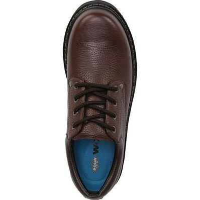 Dr. Scholl's Harrington II Brown Leather Slip-Resisting Oxford, , large