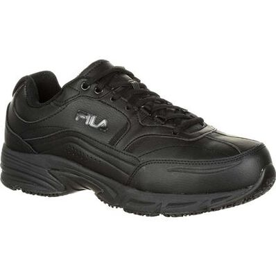 Fila Wide Memory Workshift Steel Toe Slip-Resistant Work Athletic Shoe, , large
