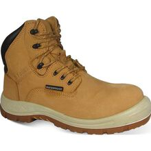 S Fellas by Genuine Grip Poseidon Men's Waterproof Leather Work Hiker